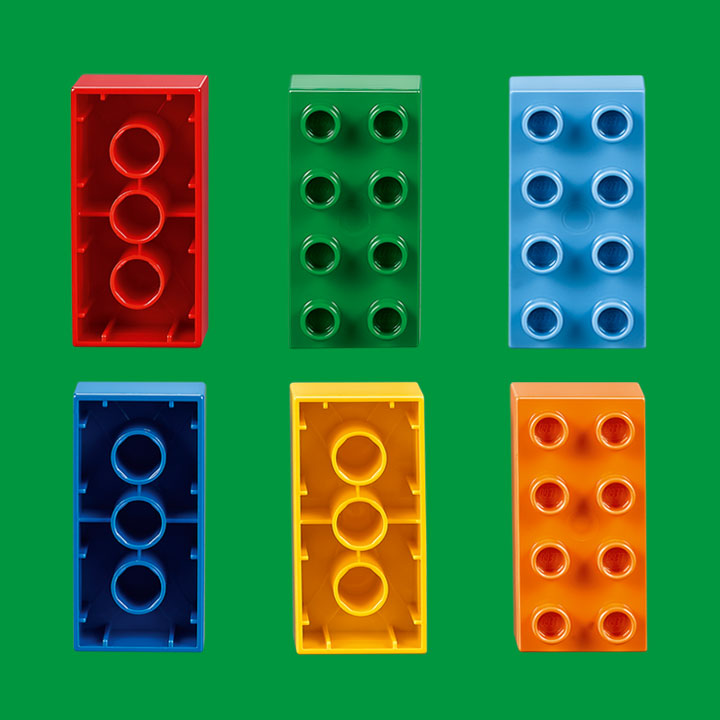 Get inspiration for play-based learning with Six Bricks