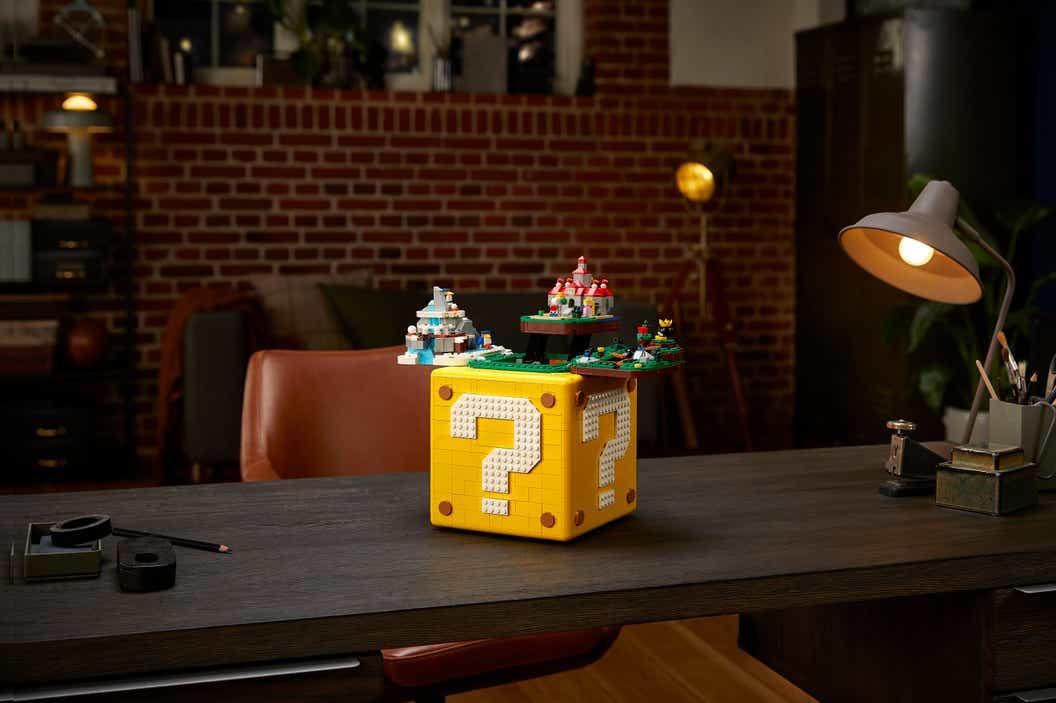 Lifestyle image the LEGO Super Mario 64 ? Block Set