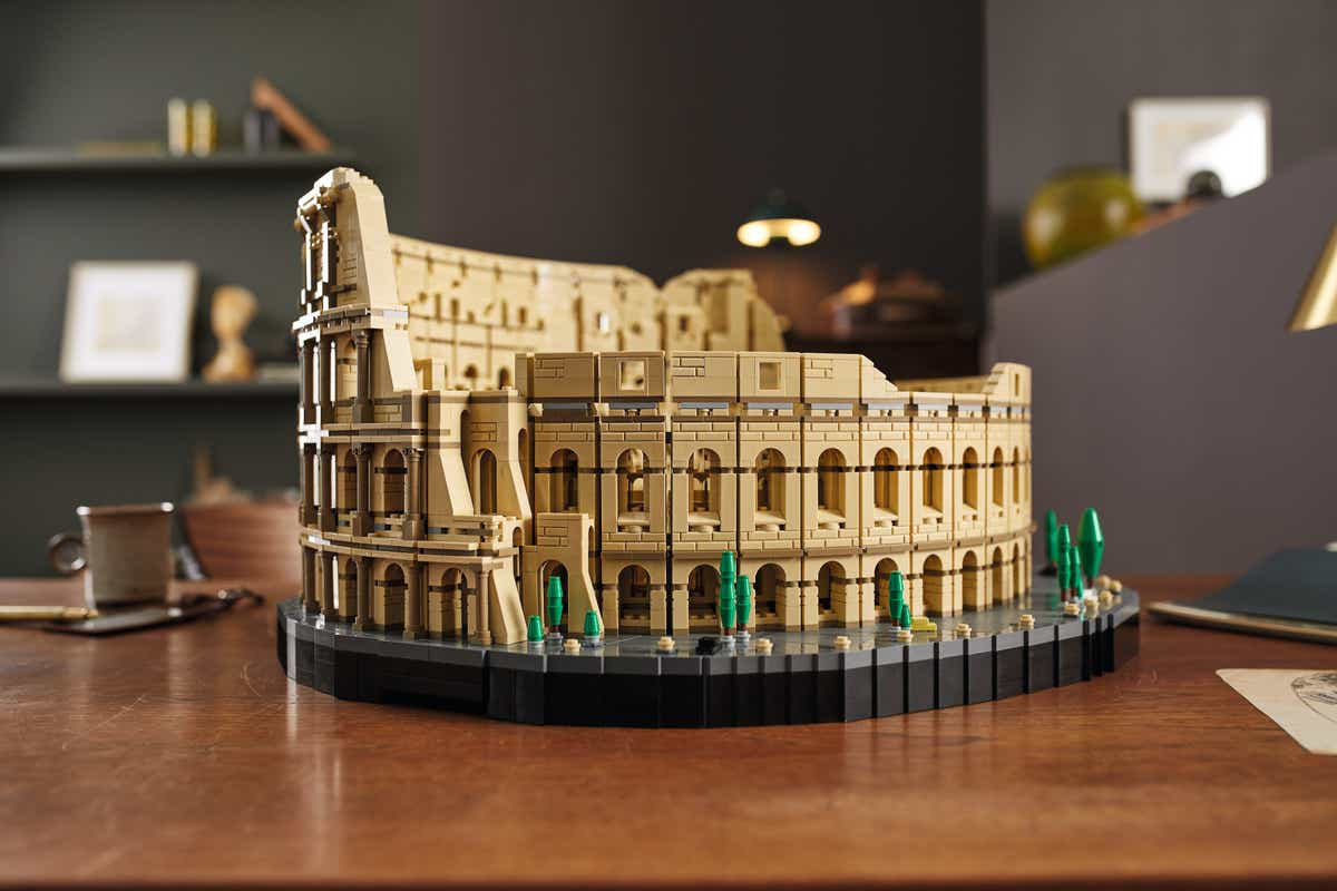 behold the majesty of the roman colosseum, now in your