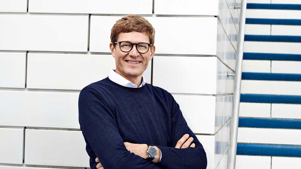 High resolution image of LEGO Group CEO Niels B. Christiansen