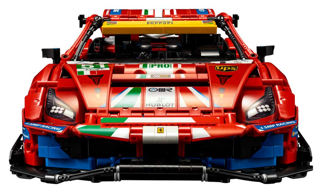 Accelerate Into The Adrenaline Fuelled World Of Endurance Racing With The Lego Technic Ferrari 488 Gte Af Corse 51 About Us Lego Com De