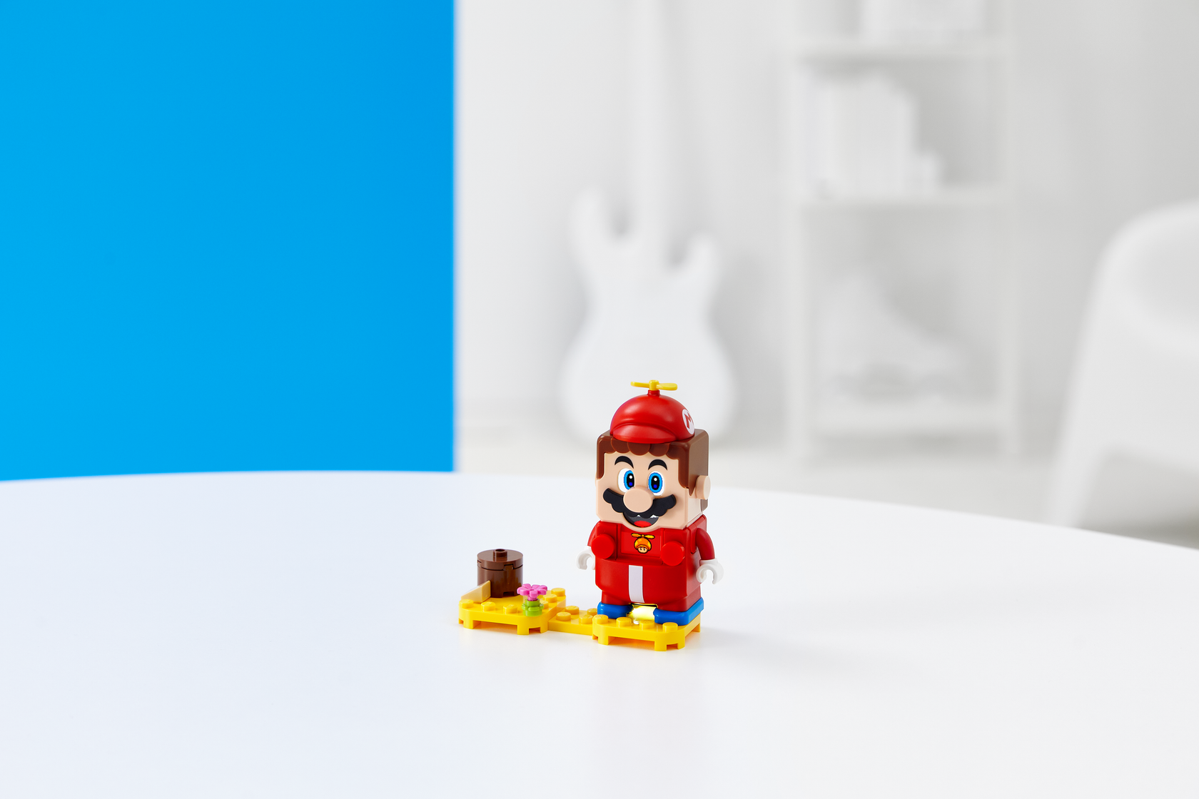 Image of LEGO Super Mario with Propeller Mario Power-Up Pack