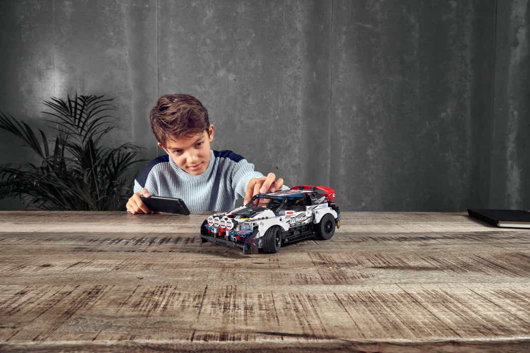 LEGO Technic app controlled rally car