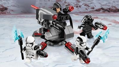 75197 - LEGO Star Wars - First Order Specialists Battle Pack - Gunner, Cannon, Laser, Battle, Stormtrooper