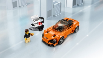 LEGO Speed Champions - 75880 McLaren - Show off your design skills and build this awesome LEGO® Speed Champions model.