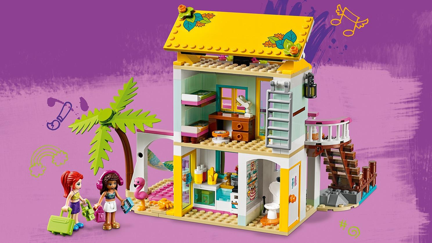 Casa En La Playa 41428 Sets Lego Friends Lego Com Kids