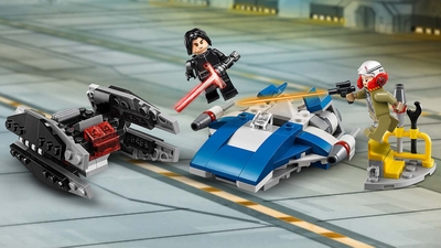 75196 - LEGO Star Wars - A-Wing™ vs. TIE Silencer™ Microfighters - Spaceship, Battle, Missiles, Laser