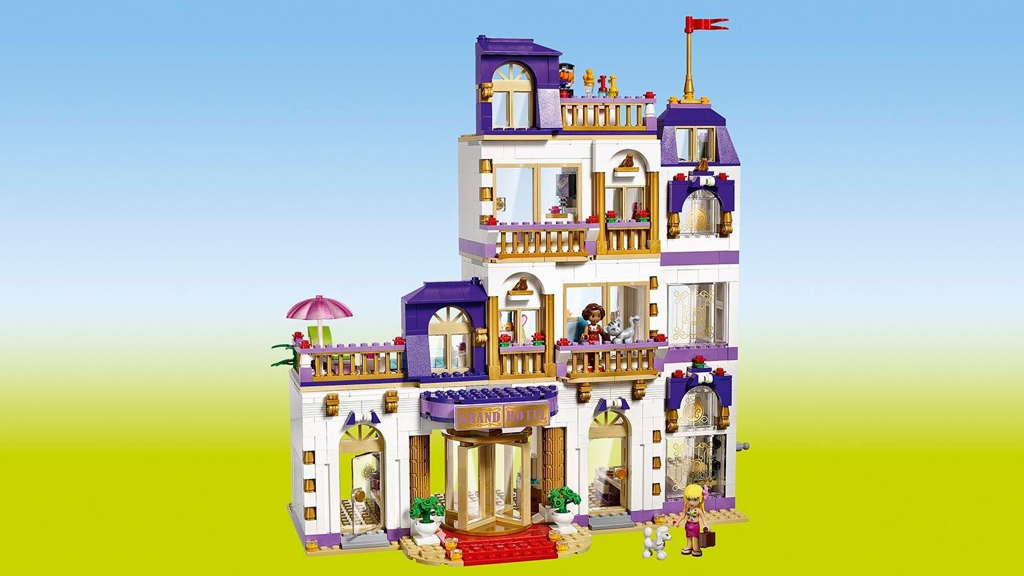 Heartlake Grosses Hotel 41101 Lego Friends Sets Lego Com Fur Kinder