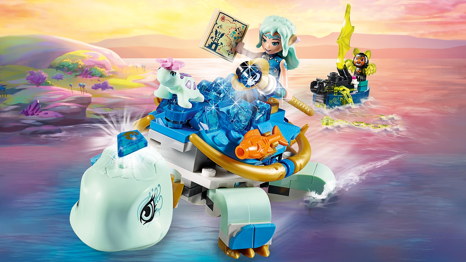 41191 Lego Elves-Naida and the Water Tortoise