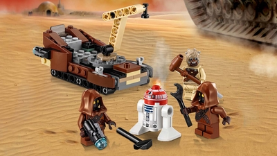 75198 - LEGO Star Wars - Tatooine™ Battle Pack - Droids, Space Vehicle, Tusken Raider, Battle