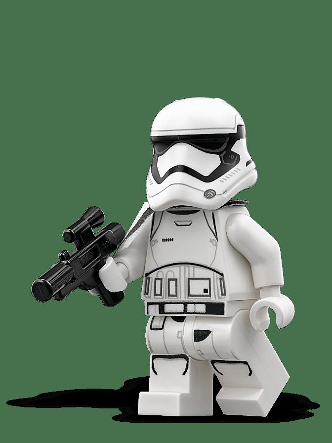 Sergente Stormtrooper del Primo Ordine LEGO Star Wars
