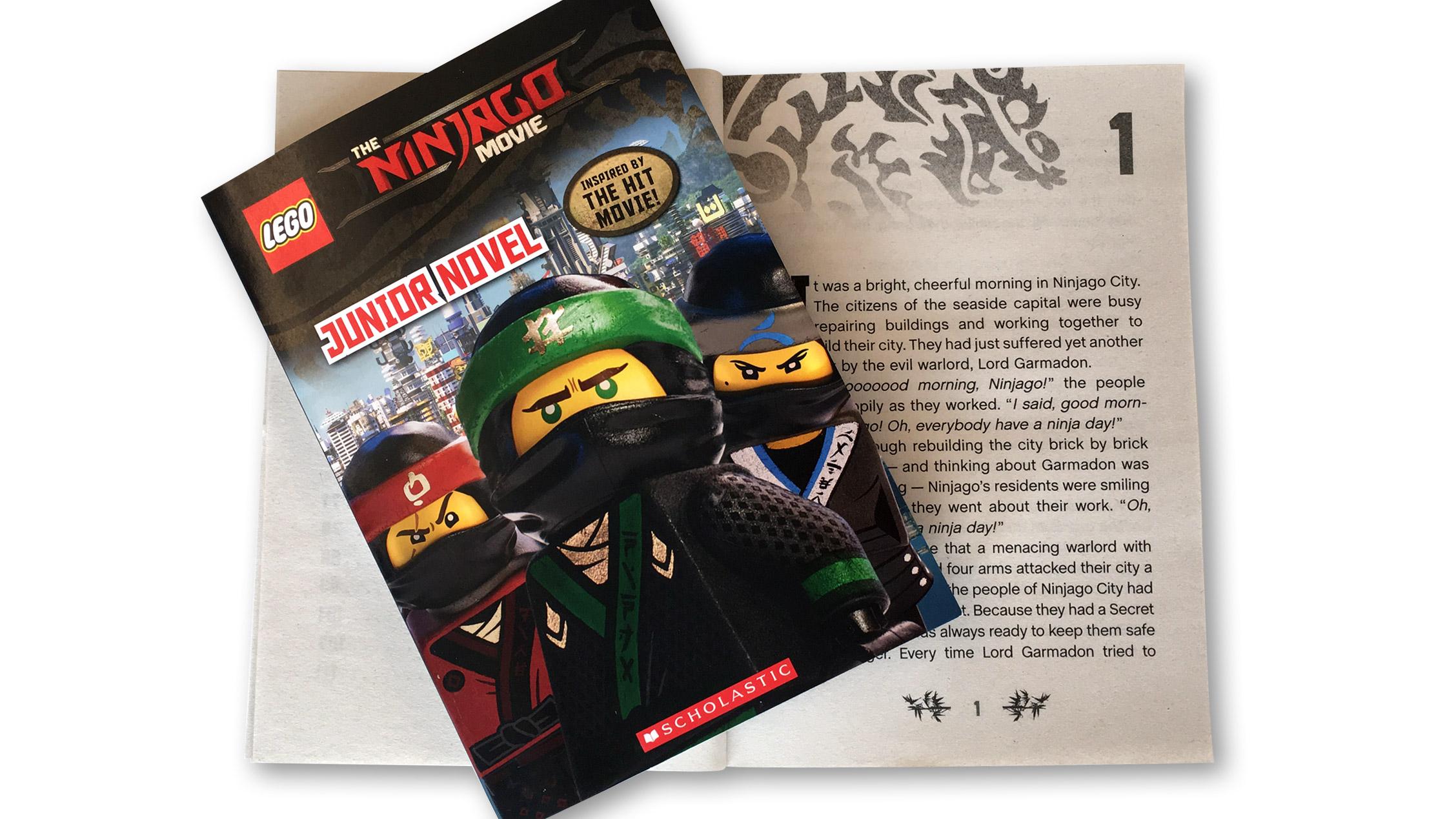 First Look at the LEGO Ninjago Movie Novel! - LEGO Ninjago ...