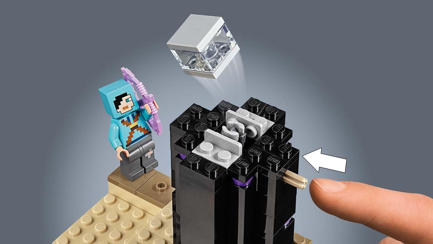 The End Battle 21151 Lego Minecraft Sets Lego Com For Kids Us