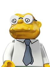 LEGO Minifigures The Simpsons 2 Moleman