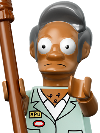 LEGO Minifigures The Simpsons Series Apu