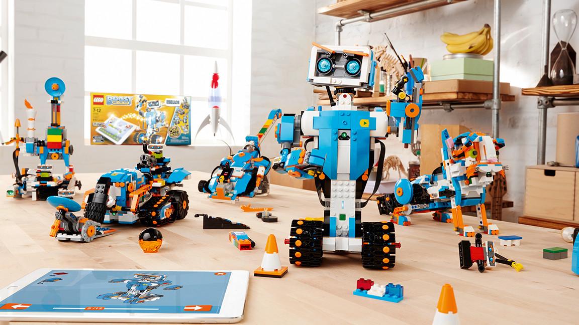 Les cinq modèles LEGO® BOOST