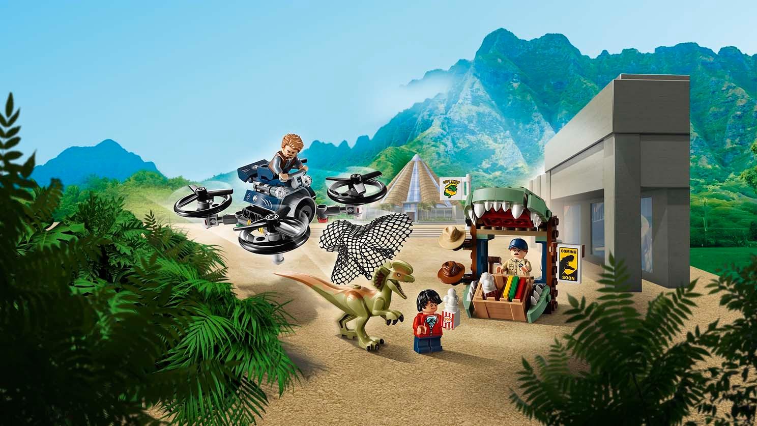 - NEW LEGO Jurassic World JW046 Hudson Harper Minifigure #75934