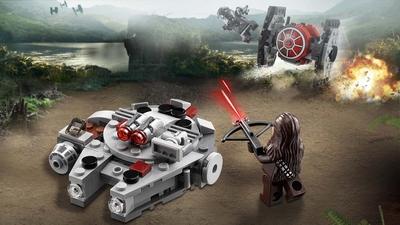 LEGO Star Wars Millennium Falcon™ Microfighter - 75193 - Chewbacca flying in the Millennium Falcon