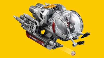 LEGO Super Heroes - 76109 Quantum Realm Explorers - Fire stud shooters from the Quantum Vehicle and use its grabbing arms.