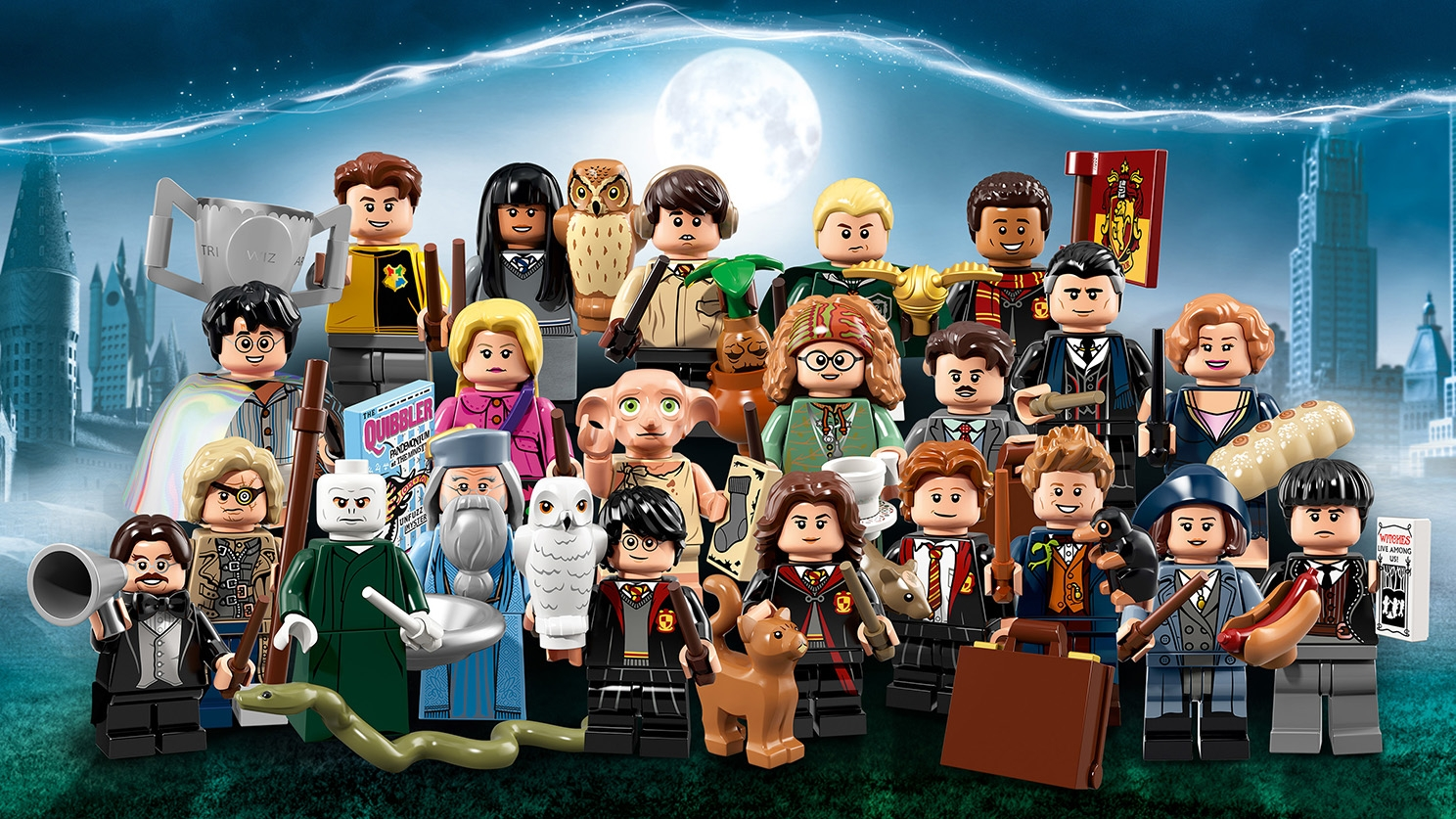 LEGO Minifigures - 71022 Harry Potter and Fantastic Beasts - Collect characters from the Harry Potter and Fantastic Beasts stories like Newt Scamander, Tina Goldstein, Albus Dumbledore and Harry Potter himself!