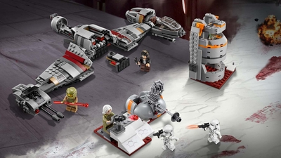 75202 - LEGO Star Wars - Defense of Crait™ - Battle, Laser Cannon, Stud Shooter