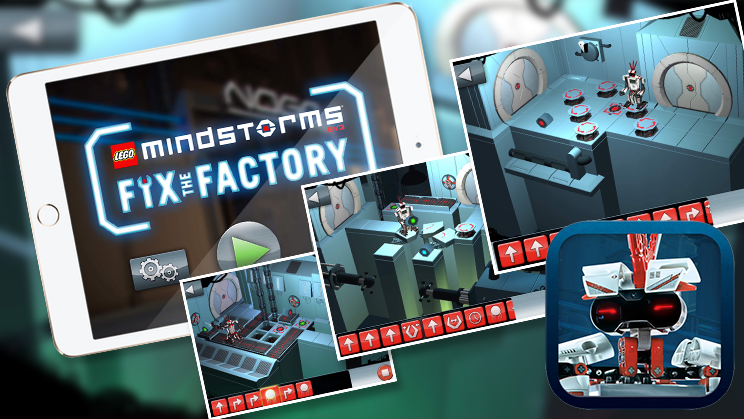 LEGO® MINDSTORMS® Fix the Factory