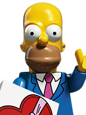 LEGO Minifigures The Simpsons 2 Homer