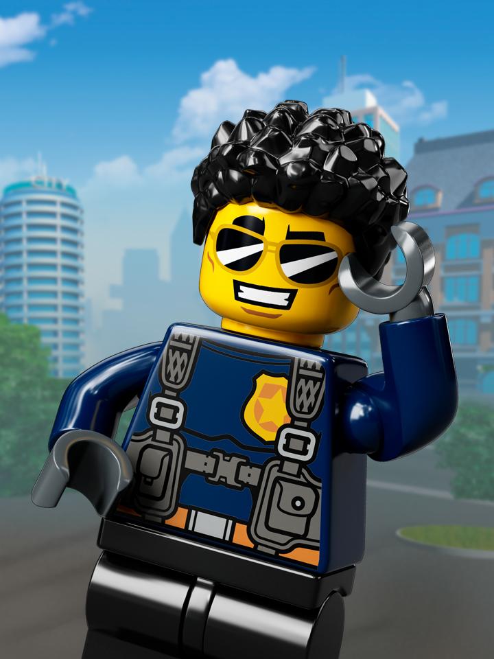 Duke DeTain - LEGO City Characters - LEGO.com for kids - US