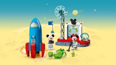 미키와 미니의 우주 로켓 10774 - 레고® | 디즈니 세트 - 아이들을 위한 LEGO.com