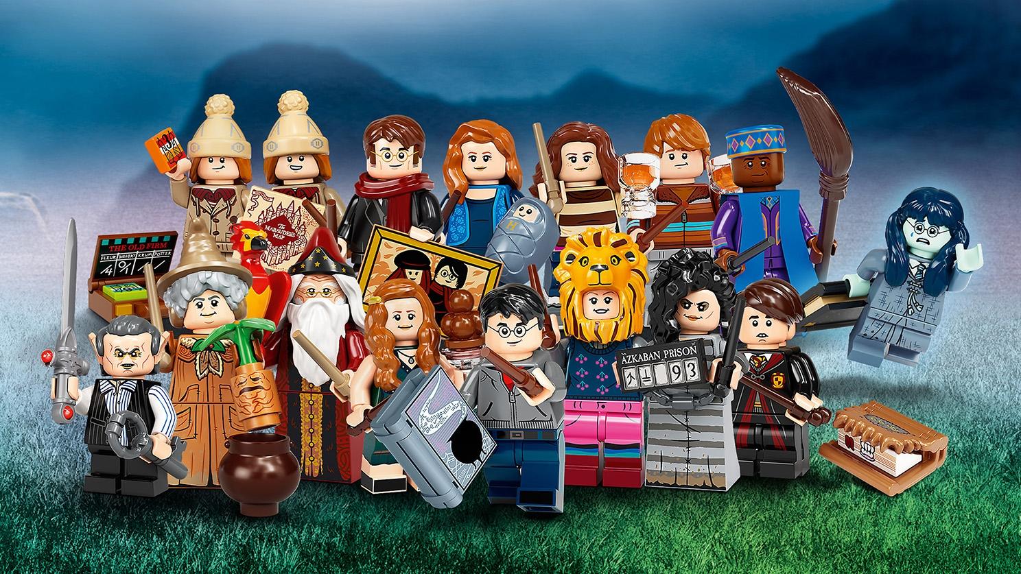 LEGO® HARRY POTTER Minifigures SPÉCIAL NOËL Personnages Minifig