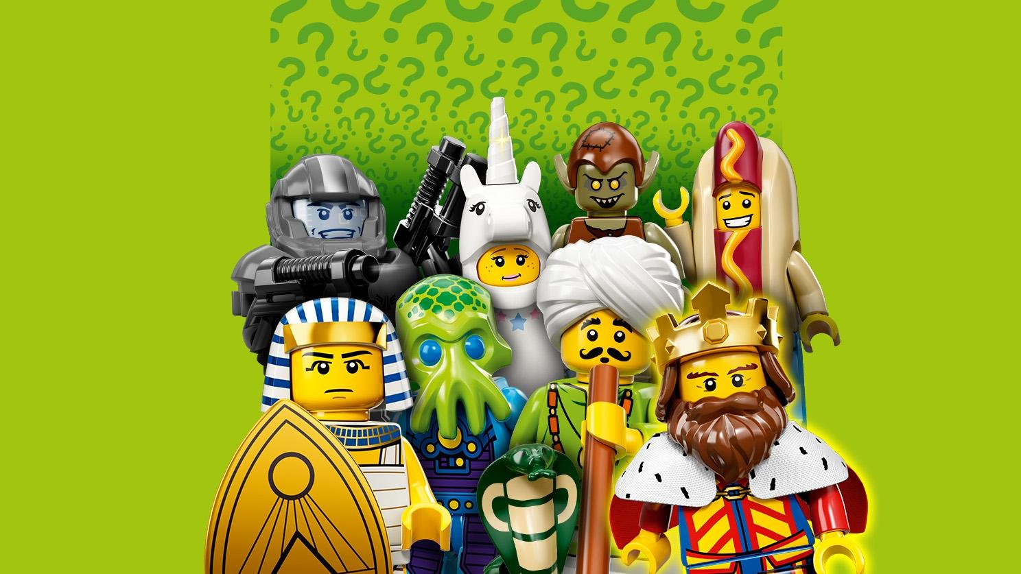 Lego CMF series 13 71008 minifigure SEALED choose 1 King Sheriff