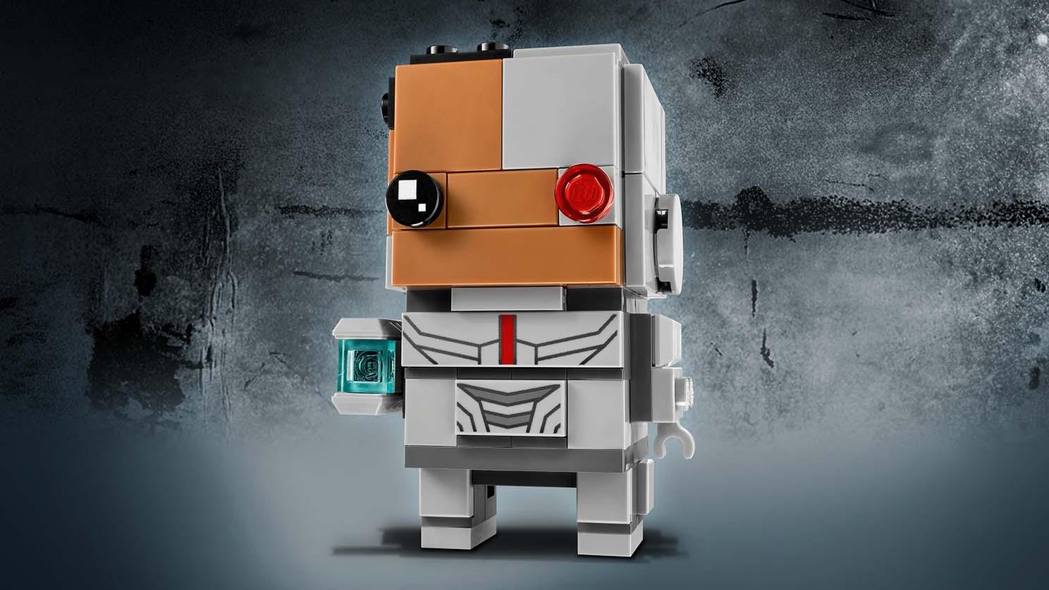LEGO Brickheadz Cyborg - 41601 - Build the Brickheadz version of Cyborg from the Justice League movie.