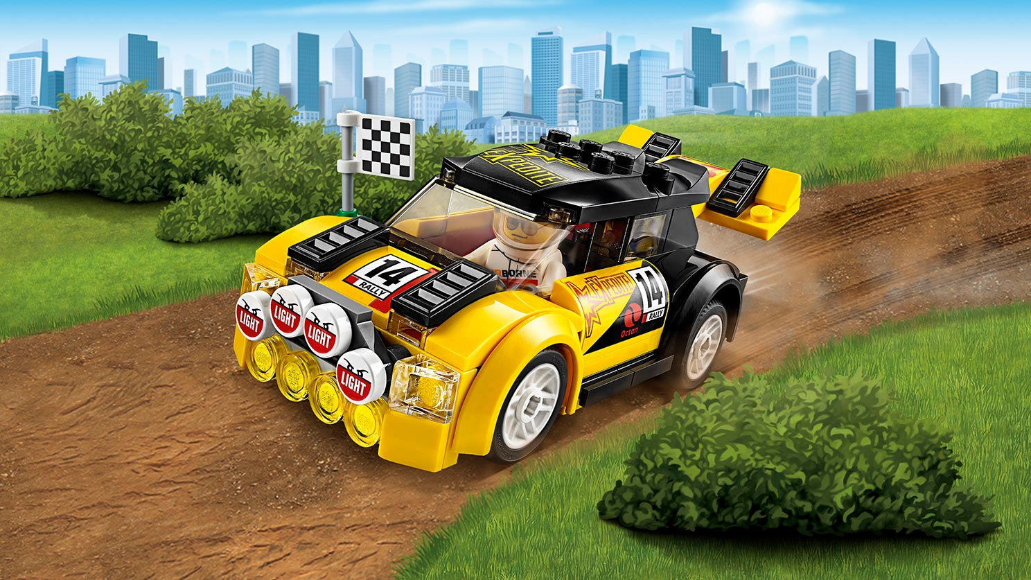 LEGO City Great Vehicles – Rally Car 60113