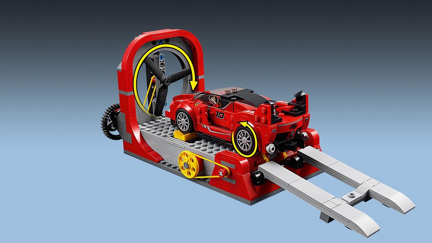 Ferrari Fxx K Entwicklungszentrum 75882 Lego Speed Champions Sets Lego Com Für Kinder