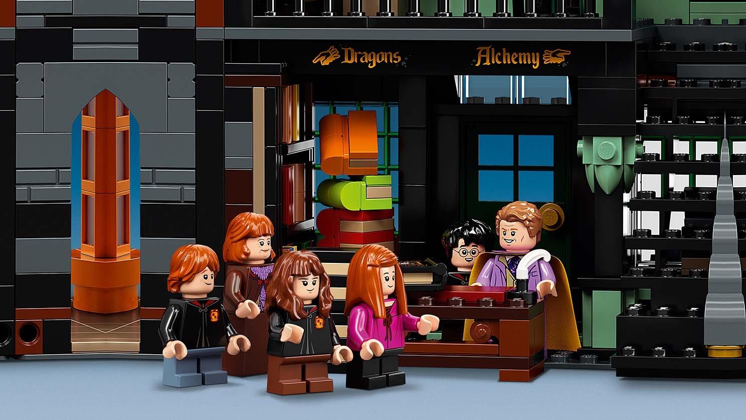 Winkelgasse 75978 Lego Harry Potter Und Phantastische Tierwesen Sets Lego Com Fur Kinder
