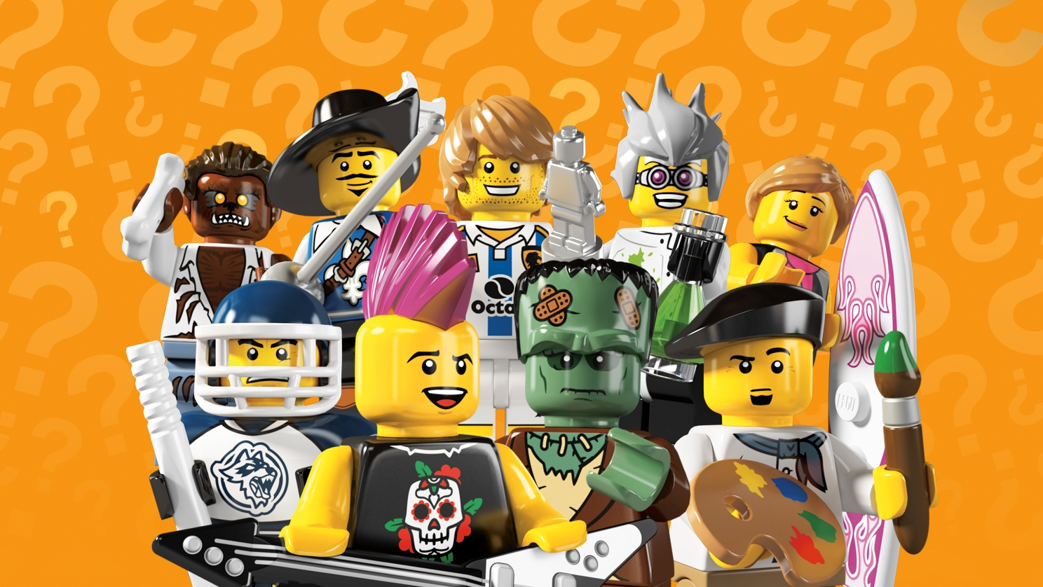 LEGO Minifigures SIMPSONS Series 2 S2 Complete Set of 16 #71009