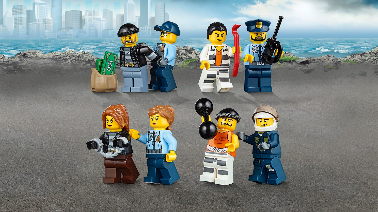 Prison Island 60130 LEGO City Sets for kids GB