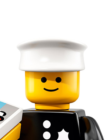 LEGO Minifigures 1978 Police Officer portrait