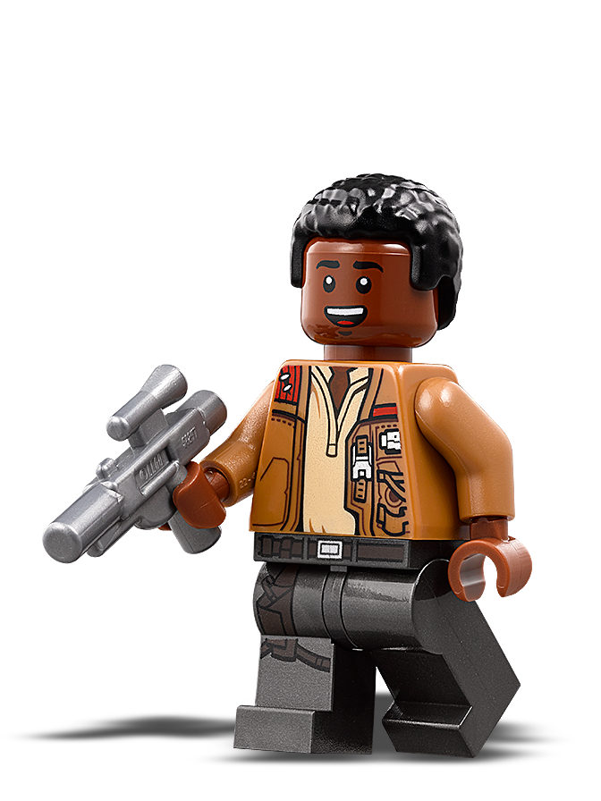 Lego Star Wars Stormtrooper Finn The Force Awakens with Blaster Star Wars Figure