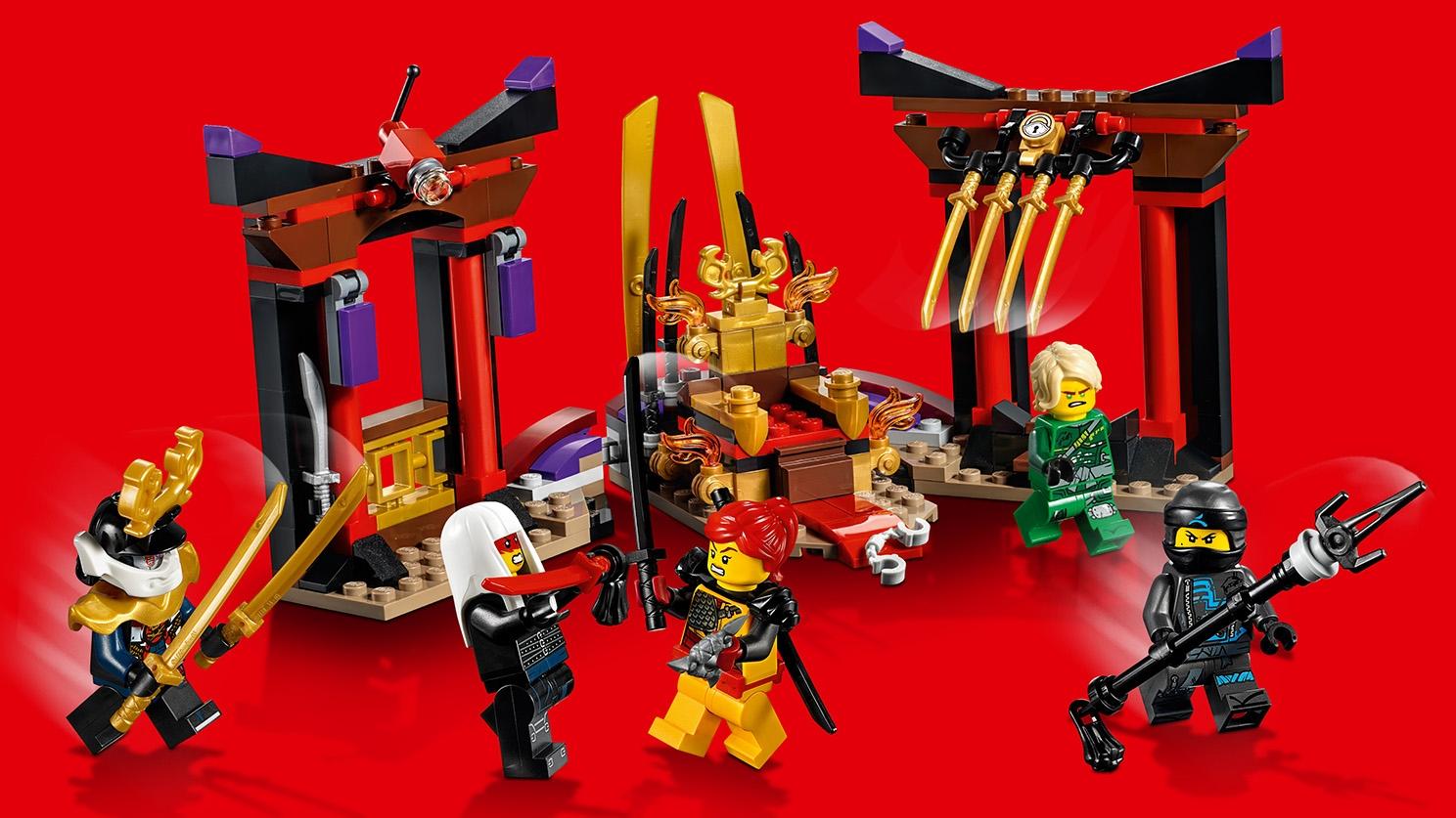 Lego Ninjago personnage-HARUMI-de 70643