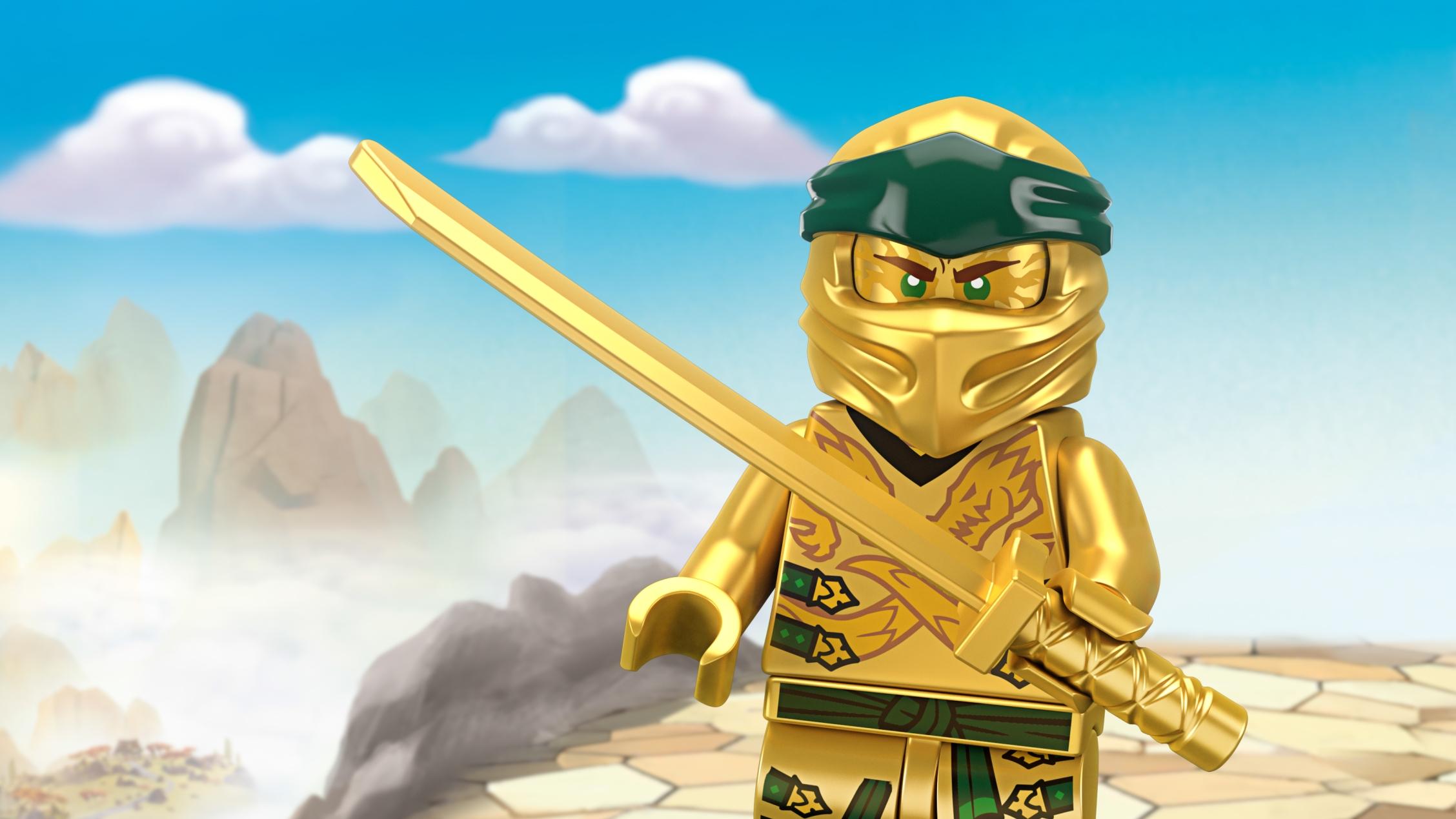 Golden Ninja Lloyd Lego Ninjago Characters Lego Com For Kids Au