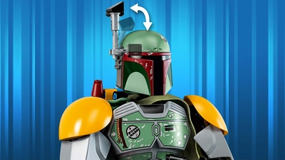 75533 - LEGO Star Wars - Boba Fett™ - Buildable Figure, Blaster Rifle, Jet Pack
