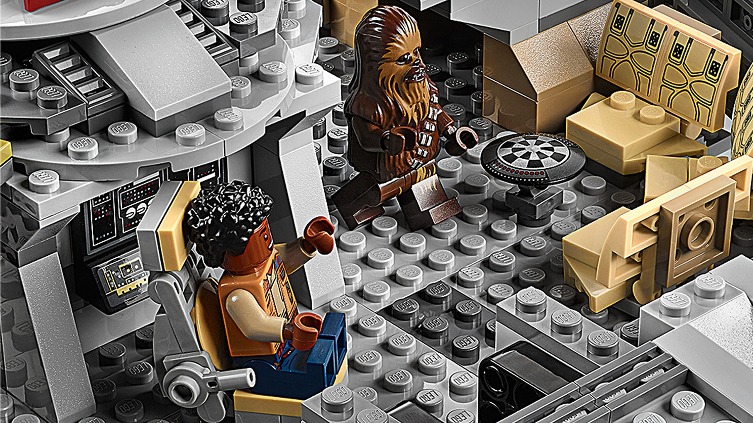 Lego Star Wars Old Lando calrissan figurine 75257 NEUF