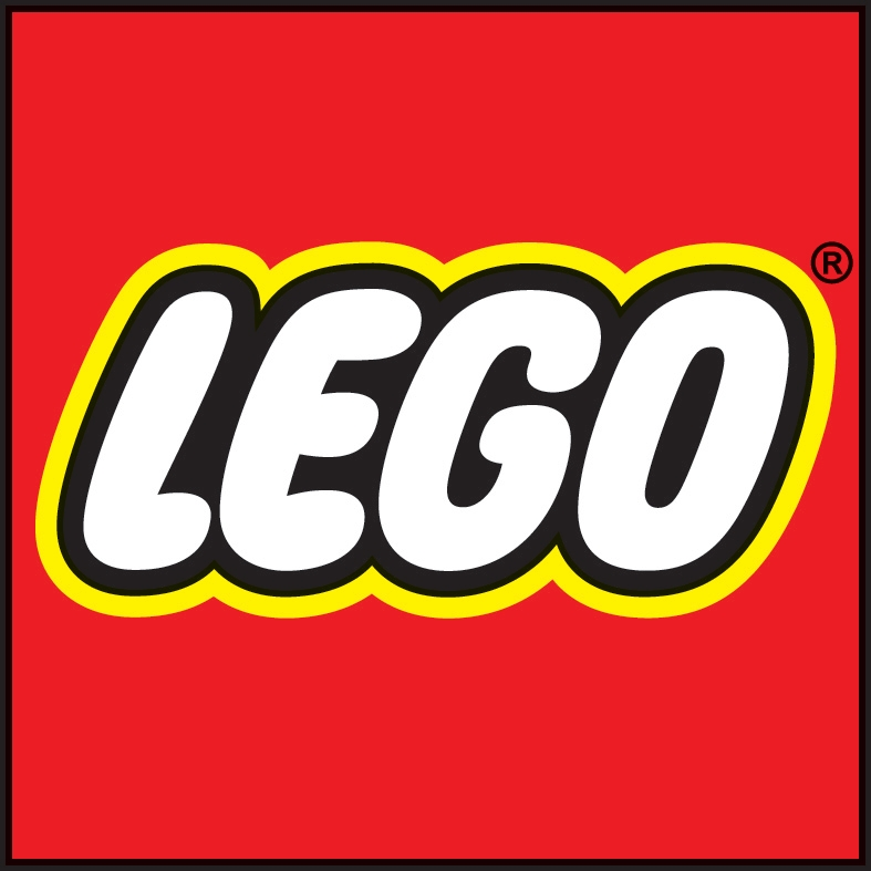 The current LEGO Logo