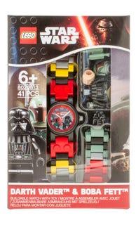 LEGO® Star Wars™ Boba Fett™ and Darth Vader™ Link Watch