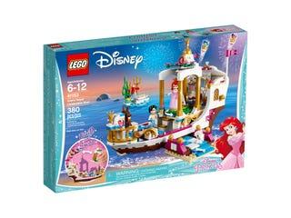 Ariel's koninklijke feestboot