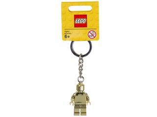 Llavero de minifigura dorada LEGO®