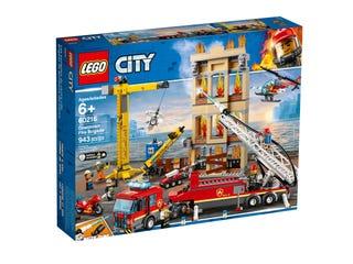 Les pompiers du centre-ville