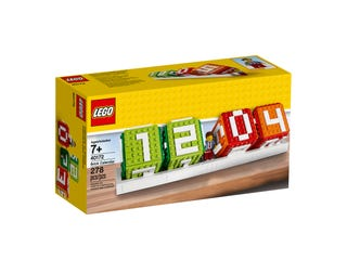 LEGO® iconische bouwsteenkalender