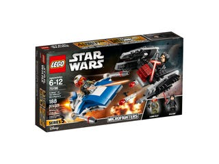 A-Wing™ vs. TIE Silencer™ Microfighters